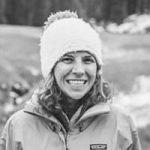 Alli Miles - ski guide