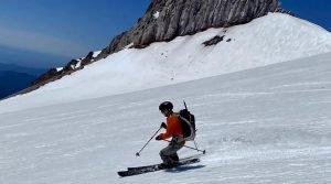 Glacier Skiing - Mt Hood