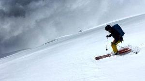 South Sister Ski Descent