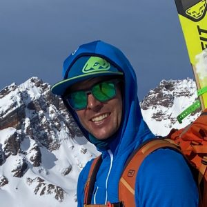 Aaron Hartz ski guide
